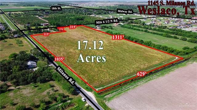 1145 Mile 6 1/2, Weslaco, TX 78596 (MLS #340942) :: Key Realty