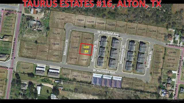 Lot 33 S Mississippi Street E, Alton, TX 78573 (MLS #341644) :: The Ryan & Brian Real Estate Team