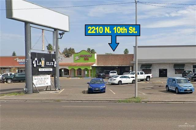 2210 N 10th Street, Mcallen, TX 78501 (MLS #343394) :: Realty Executives Rio Grande Valley