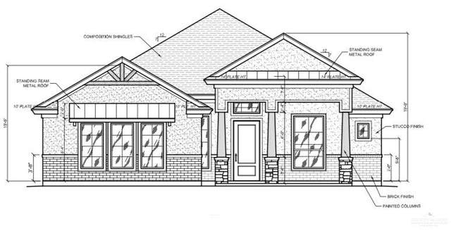 1605 Capstone Drive, Edinburg, TX 78539 (MLS #347605) :: The Ryan & Brian Real Estate Team