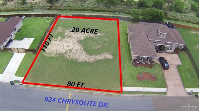 924 Chrysolite Drive, Weslaco, TX 78596 (MLS #356413) :: The Ryan & Brian Real Estate Team