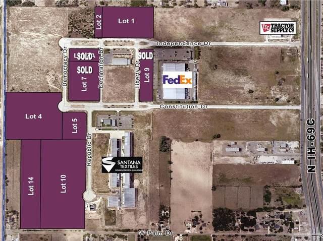 Lot 14 Republic, Edinburg, TX 78539 (MLS #359862) :: Jinks Realty