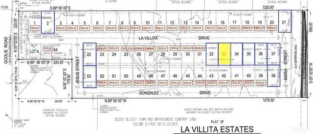 Lot 33 La Villita, Donna, TX 78537 (MLS #359891) :: The Maggie Harris Team