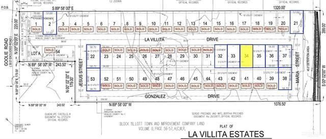 Lot 34 La Villita, Donna, TX 78537 (MLS #359893) :: The Maggie Harris Team