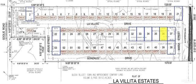 Lot 36 La Villita, Donna, TX 78537 (MLS #359896) :: The Maggie Harris Team
