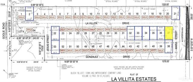 Lot 37 La Villita, Donna, TX 78537 (MLS #359897) :: The Maggie Harris Team