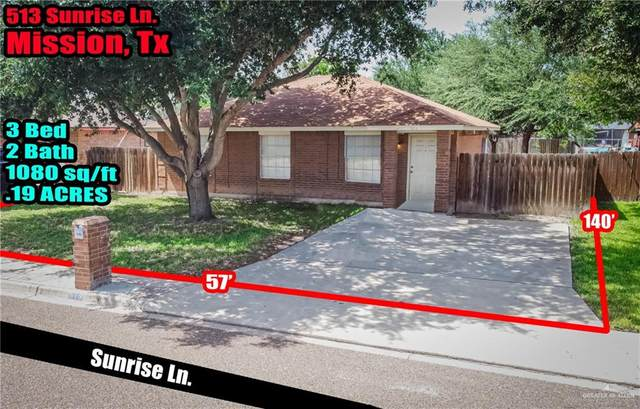 513 Sunrise, Mission, TX 78574 (MLS #361074) :: The MBTeam
