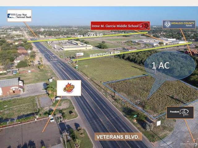 00 Veterans Boulevard, Mission, TX 78572 (MLS #313909) :: The Ryan & Brian Real Estate Team