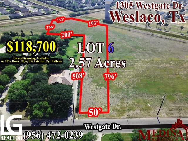 1305 S Westgate Drive S, Weslaco, TX 78596 (MLS #314984) :: The Ryan & Brian Real Estate Team