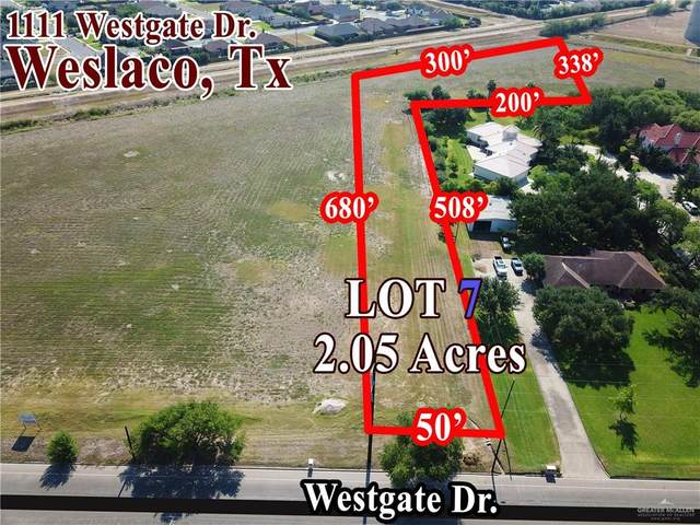 1205 S Westgate Drive S, Weslaco, TX 78596 (MLS #314988) :: The Ryan & Brian Real Estate Team