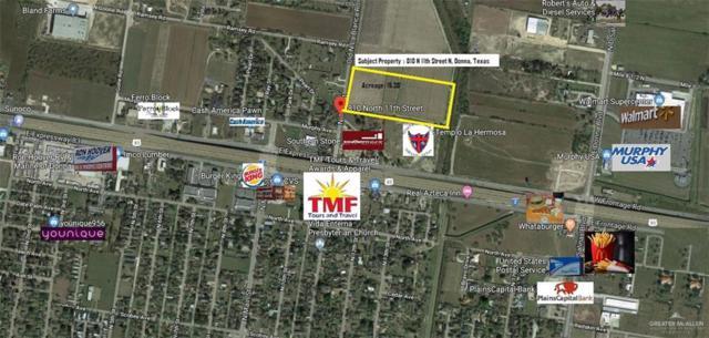 810 N 11th Street N, Donna, TX 78537 (MLS #315139) :: The Ryan & Brian Real Estate Team