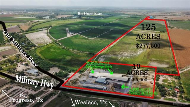 0 W Military Highway W, Progreso, TX 78596 (MLS #319049) :: The Ryan & Brian Real Estate Team