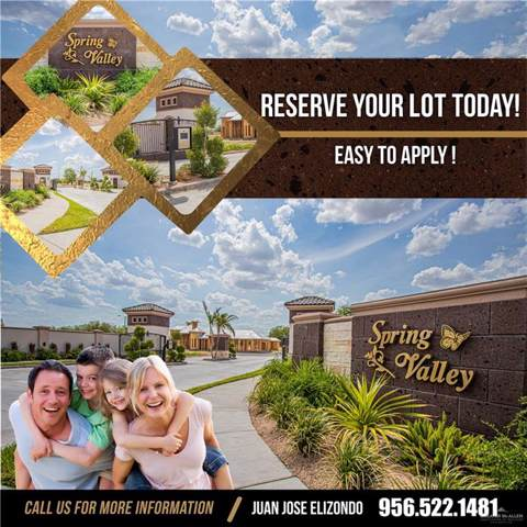 Lot 8 Stonegate Drive, Mission, TX 78574 (MLS #320110) :: The Ryan & Brian Real Estate Team