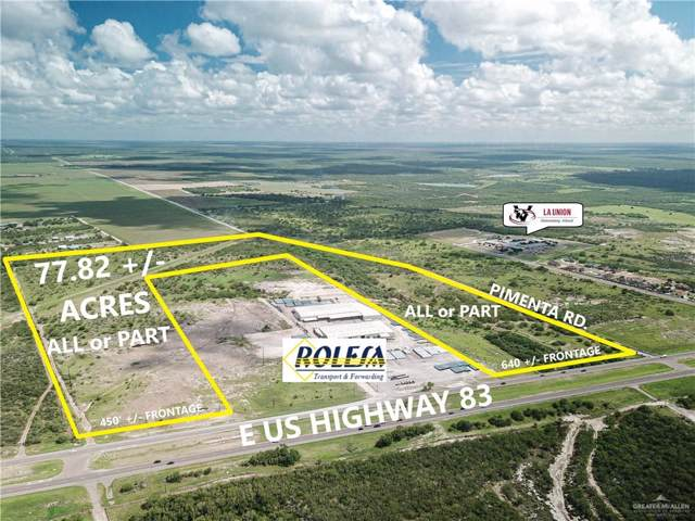 0 E Us Highway 83, Rio Grande City, TX 78582 (MLS #322764) :: Realty Executives Rio Grande Valley