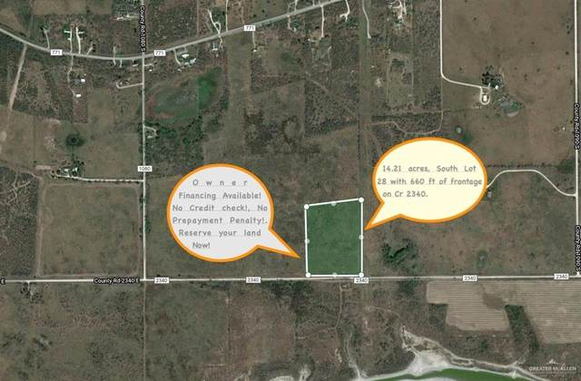 S. Lot 28 Cr 2340 Road, Riviera, TX 78379 (MLS #333922) :: The Ryan & Brian Real Estate Team