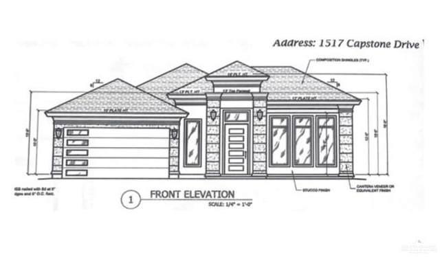 1517 E Capstone Drive, Edinburg, TX 78539 (MLS #344329) :: BIG Realty