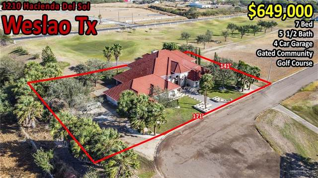 1210 Hacienda Del Sol, Weslaco, TX 78596 (MLS #348713) :: The Lucas Sanchez Real Estate Team