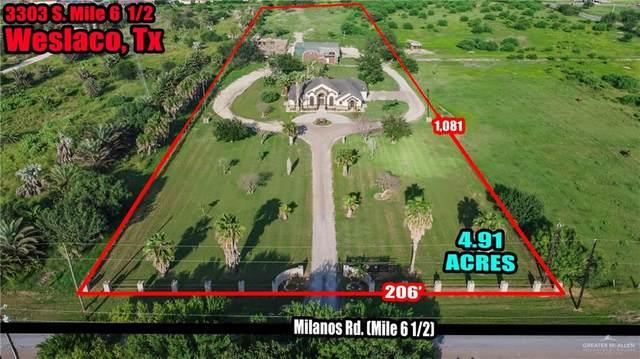 3303 S Mile 6 1/2, Weslaco, TX 78596 (MLS #362246) :: Jinks Realty