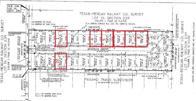 Lot 20 Quitaca Drive, Edinburg, TX 78539 (MLS #188865) :: Jinks Realty