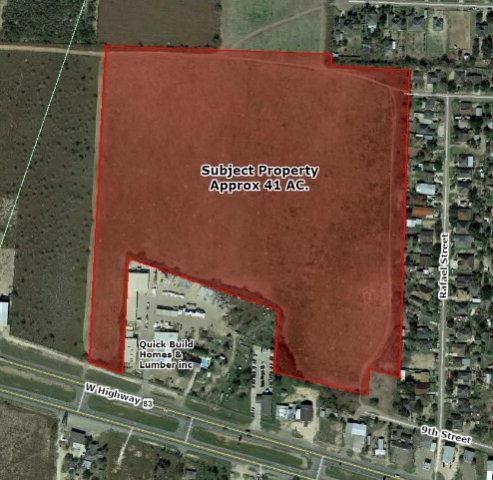 00 W Expressway 83, Sullivan City, TX 78595 (MLS #207076) :: The Ryan & Brian Real Estate Team