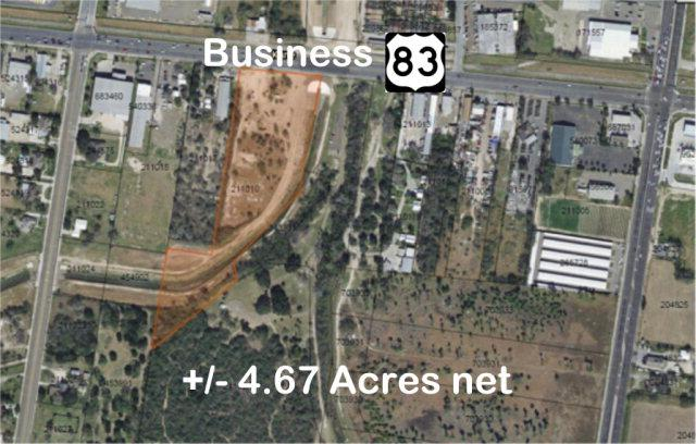 4117 W Business 83, Mcallen, TX 78501 (MLS #207393) :: Jinks Realty