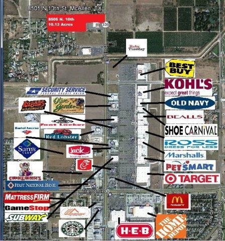 8505 N 10th Street, Mcallen, TX 78504 (MLS #208205) :: Jinks Realty