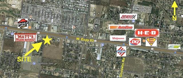 2933 W Expressway 83, Palmview, TX 78572 (MLS #209957) :: The Lucas Sanchez Real Estate Team