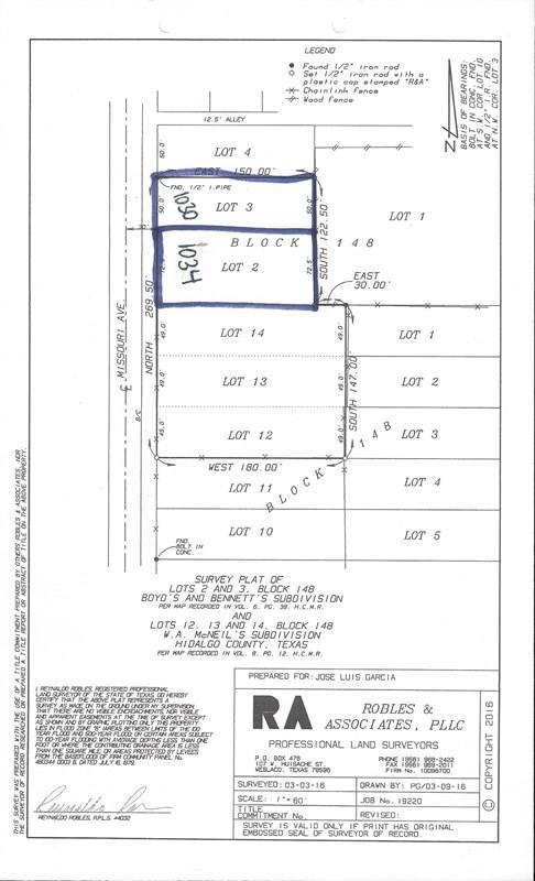 1034 Missouri Avenue, Mercedes, TX 78570 (MLS #213483) :: Top Tier Real Estate Group