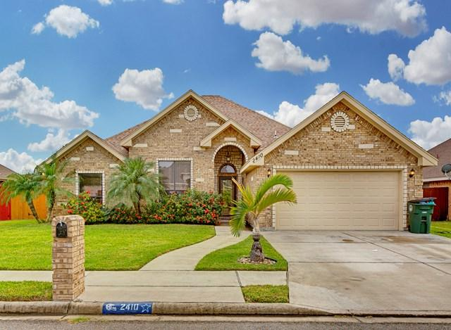 2410 Norma Drive, Mission, TX 78574 (MLS #214095) :: The Deldi Ortegon Group and Keller Williams Realty RGV