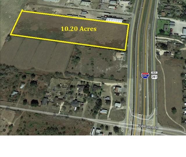 00 N 281 Us Highway 281, Edinburg, TX 78541 (MLS #214609) :: The Lucas Sanchez Real Estate Team