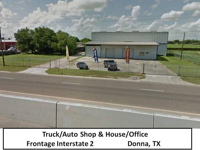 506 E Frontage Road #0, Donna, TX 78535 (MLS #214852) :: The Ryan & Brian Team of Experts Advisors