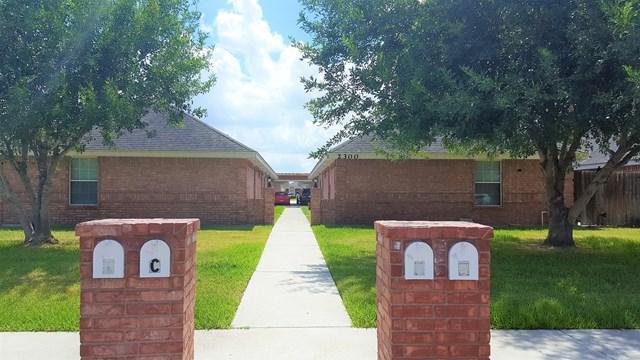 2300 N Erica Street C, Pharr, TX 78577 (MLS #215621) :: The Deldi Ortegon Group and Keller Williams Realty RGV