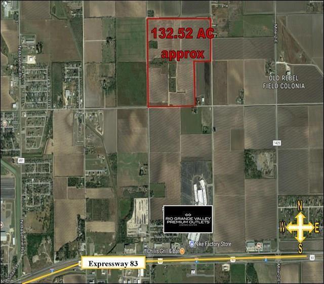 - Mile 1 1/2 Street E, Mercedes, TX 78570 (MLS #303977) :: Berkshire Hathaway HomeServices RGV Realty