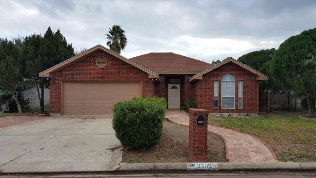 2206 E 21st Street, Mission, TX 78572 (MLS #305320) :: The Ryan & Brian Real Estate Team