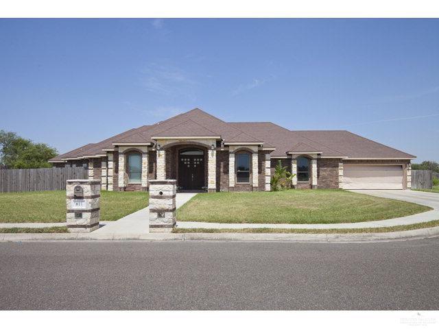 811 N Blue Bonnett Street, Mission, TX 78573 (MLS #306147) :: The Ryan & Brian Real Estate Team