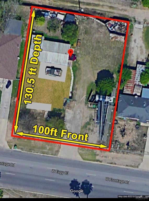 1206 W Frontage Road W, Alamo, TX 78516 (MLS #313683) :: The Ryan & Brian Real Estate Team