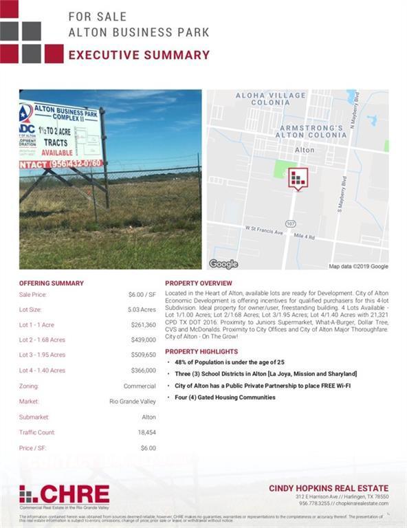 509 S Alton Boulevard, Alton, TX 78573 (MLS #313761) :: HSRGV Group