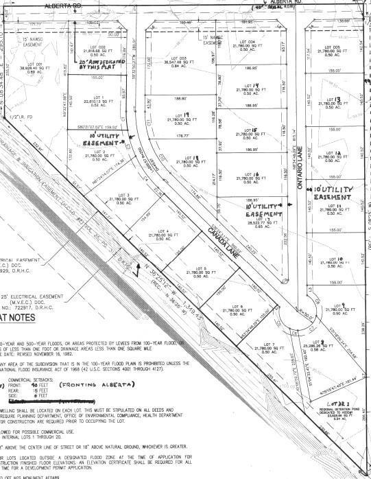 Lot 13 Ontario Lane, Edinburg, TX 78542 (MLS #317915) :: The Ryan & Brian Real Estate Team
