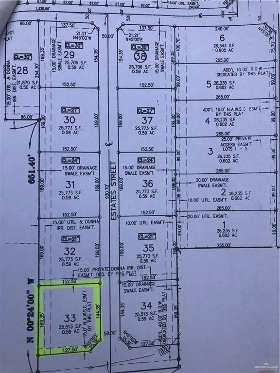 5817 Estates Street, Donna, TX 78537 (MLS #319771) :: The Ryan & Brian Real Estate Team