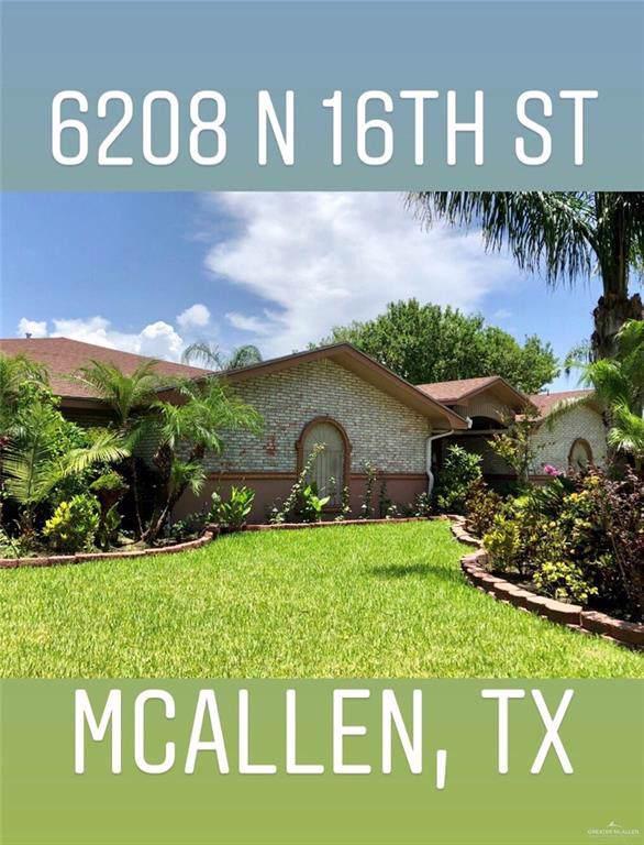 6208 N 16th Street, Mcallen, TX 78504 (MLS #322932) :: The Ryan & Brian Real Estate Team
