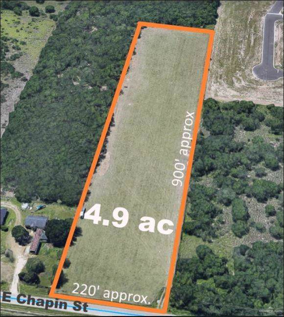 5 AC E Chapin, Edinburg, TX 78541 (MLS #323404) :: The Lucas Sanchez Real Estate Team