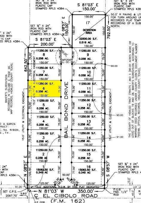 12507 N Bail Bond Drive, Edinburg, TX 78539 (MLS #342085) :: The Maggie Harris Team
