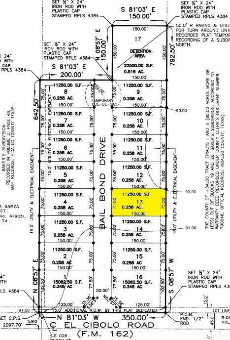12420 N Bail Bond Drive, Edinburg, TX 78539 (MLS #342088) :: Jinks Realty