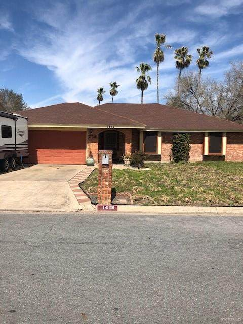 1416 Flamingo Avenue, Mcallen, TX 78504 (MLS #352908) :: Imperio Real Estate