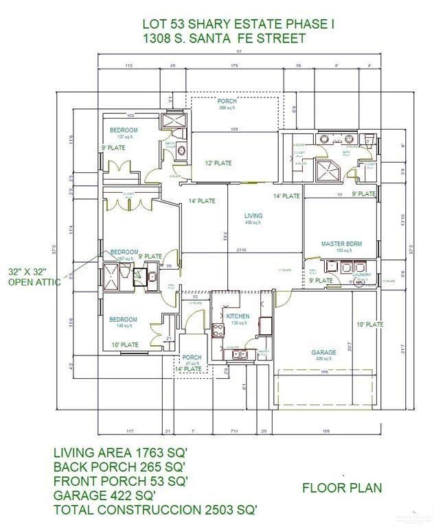 1308 S Santa Fe, Alton, TX 78572 (MLS #362287) :: API Real Estate