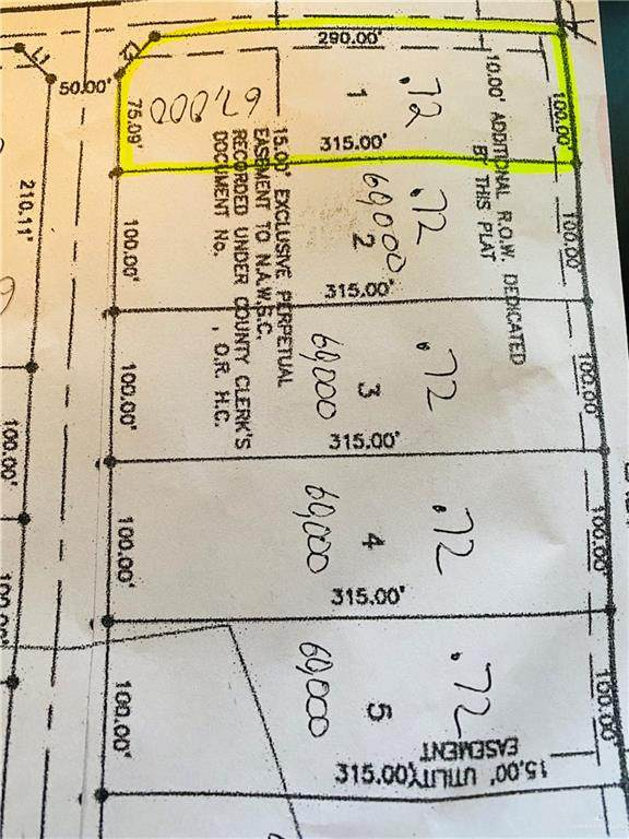 Lot 3 Mile 3 E, Mercedes, TX 78570 (MLS #366803) :: The Ryan & Brian Real Estate Team