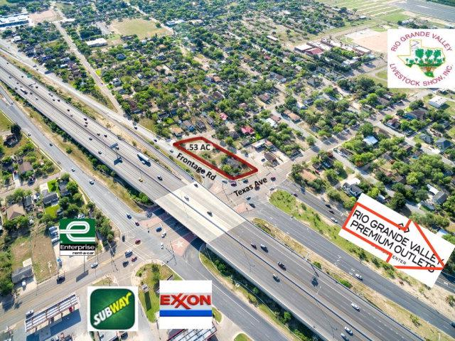 540 N Texas Avenue Lots 15-23, Mercedes, TX 78570 (MLS #208938) :: The Ryan & Brian Real Estate Team