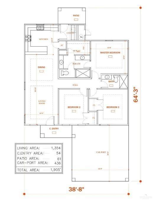 1315 Middle Street, Alamo, TX 78516 (MLS #347717) :: The Lucas Sanchez Real Estate Team