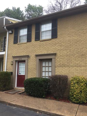 2678 Central Terrace St #9, Memphis, TN 38111 (#10003897) :: Berkshire Hathaway HomeServices Taliesyn Realty