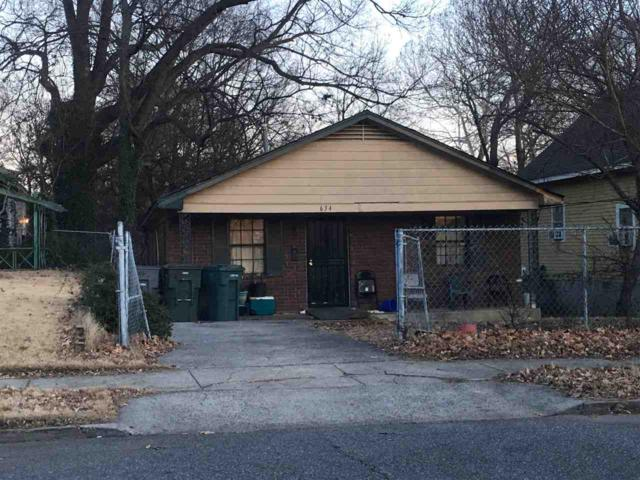 634 N Fifth Ave, Memphis, TN 38107 (#10018352) :: ReMax Experts